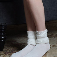 Tall Ruffle Socks