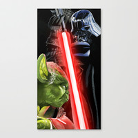 Star Wars: Battle of the Masters Stretched Canvas by SRB Productions