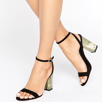 ASOS HUE Heeled Sandals at asos.com