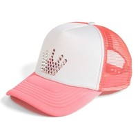 Girl's Glitzy Bella 'Princess' Trucker Hat