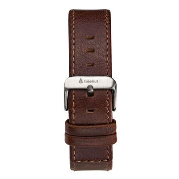 20mm Brown Leather Band