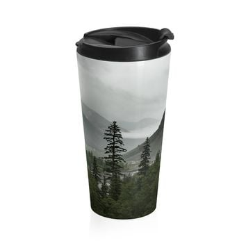 Colorado Mountain Valley Coffee Cup - Stainless Steel Travel Mug