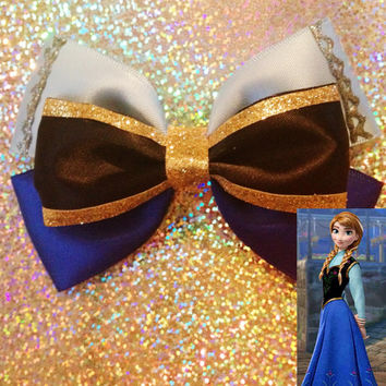 Bow inspired by Anna from Disneys frozen