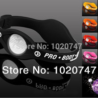 Power Energy Hologram Bracelets Wristbands Balance Ion Magnetic Therapy Fashion Silicone Bands