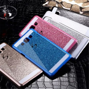 Bling Luxury Hard Phone Case For Samsung Galaxy Grand Prime G530 G530H G530W G531H SM-G531F Case Back Cover Cell Phone Case+Gift
