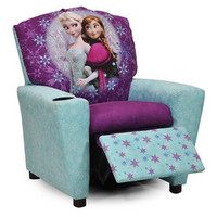 Blue & Purple Frozen Recliner | zulily