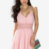 LuLu Lace Trim Dress