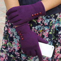 Fashion gloves For winter gloves Womens Screen Winter