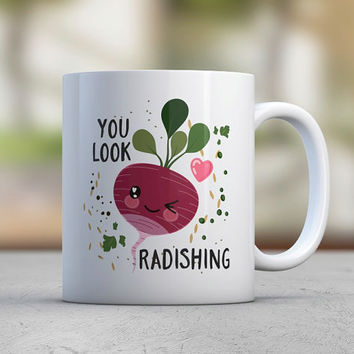 Radish - Confidence - Cute - Funny Mugs - Coffee Mugs - Birthday Gift - Gift for Her- Sister Gift - Purple - Motivation