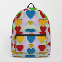 So sweet and hearty as love can be Backpack by Pepita Selles
