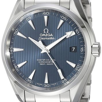 Omega 231.10.42.21.03.003 Seamaster Aqua Terra Automatic Mens Watch - Blue Dial