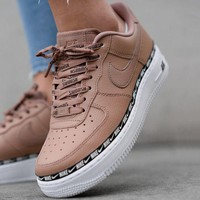 Nike Air Force 1 Low Metallic Gold Low classic shoes-1