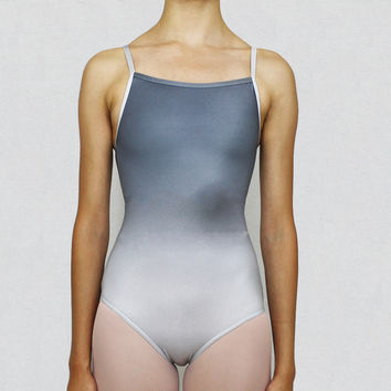 Camisole Ombre Leotard Steel/Silver