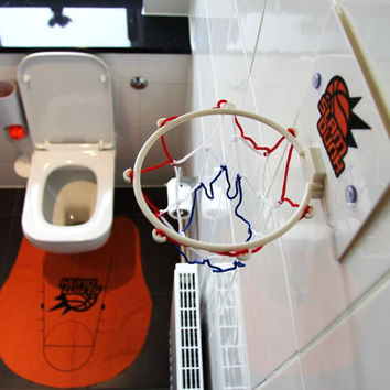 Toilet Basketball Gift