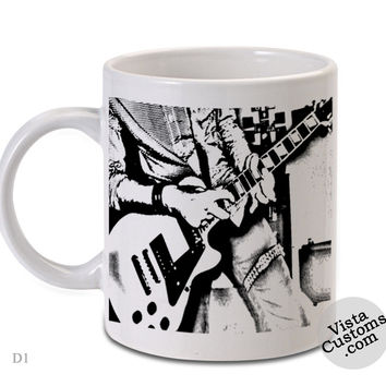 Punk Rock, Coffee mug coffee, Mug tea, Design for mug, Ceramic, Awesome, Good, Amazing