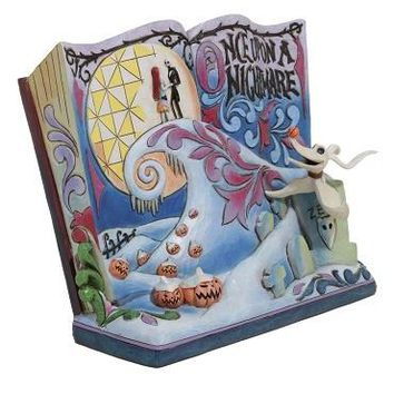 The Nightmare Before Christmas Storybook By Tim Burton