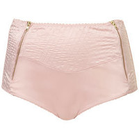 Satin High Waisted Knickers - Lingerie & Nightwear  - Clothing