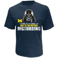 Michigan Wolverines Star Wars Disturbing Tee