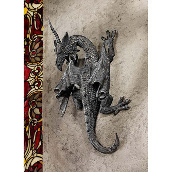 Horned Dragon Of Devonshire Plaque
