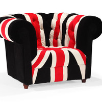 Furniture Canada — Union Jack Armchair at Furniture Canada | Modern living room furniture by Zuo Modern