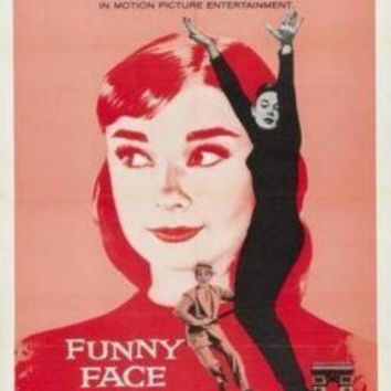 Funny Face Audrey Hepburn movie poster Sign 8in x 12in