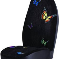 Butterfly High Back Car Seat Cover