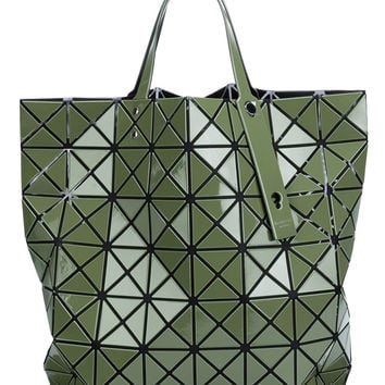 Green Prism Tote in Green