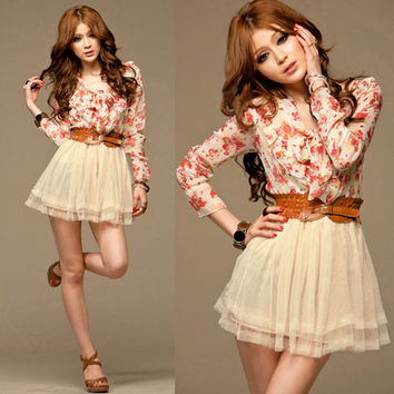 Floral Dress (FREE SHIPPING)