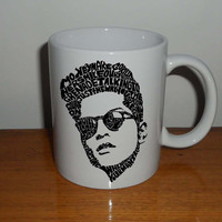 bruno mars title song design Mug cup best quality materials ceramic by cegeMUG