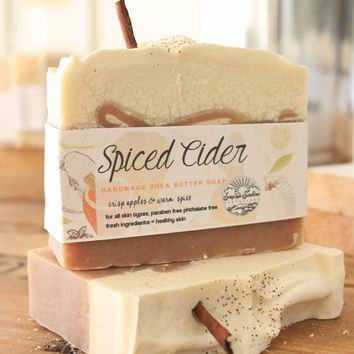 Spiced Apple Cider Handcrafted Soap Bar