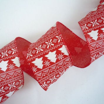 wired Christmas ribbon decorations White Christmas tree red rustic burlap ribbon Christmas ribbon wreaths make Christmas wired ribbon bows