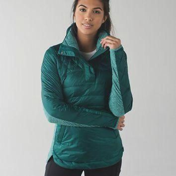 DCCK8X2 down for a run pullover | women's long sleeve running tops | lululemon athletica