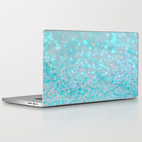 Sweetly Aqua Laptop & iPad Skin by Lisa Argyropoulos