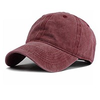 Cotton Snapback Fitted Cap