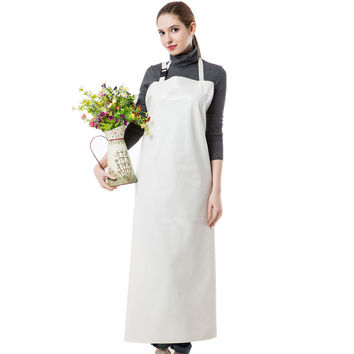 Waterproof Practical/Working/Cleaning Long Unisex Apron