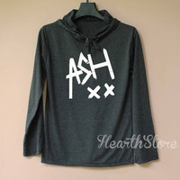 Ashton Irwin 5SOS Shirt Five Seconds of Summer Shirt Long Sleeve Hoodie TShirt T Shirt Unisex - size S M L