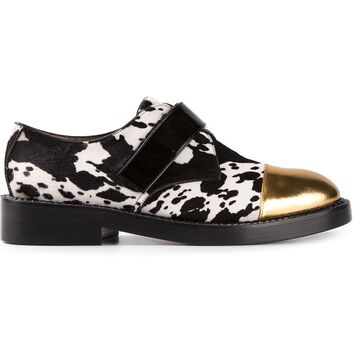 Marni animal print monk shoes
