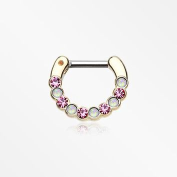 Golden Opal Paradigm Septum Clicker