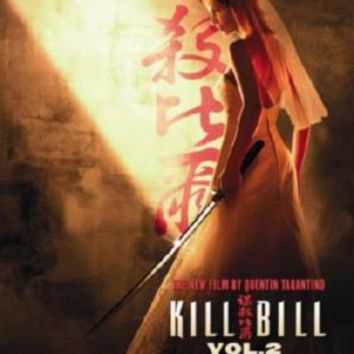 Kill Bill V.2 Movie Poster Standup 4inx6in
