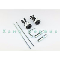 Hidden fasteners for suspended toilet Roca Gap 7V0027200R