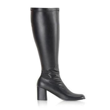 Pleaser Female 3 Inch Block Heel Wide Boot GOGO300WC