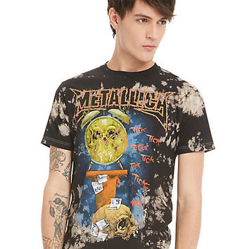 Metallica Life Is Pain Bleach Wash T-Shirt