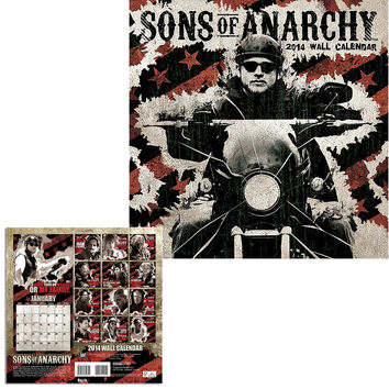Sons Of Anarchy 2014 Calendar