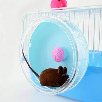 Cute Exercise Wheel Roller Silent Sports Pet Toy for Hamster