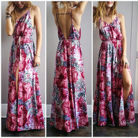 A Bohemian Dream Double Slit Maxi