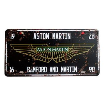 America Vintage Car Plate Wall Hanging Decoration   7