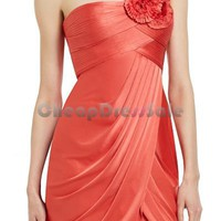 ONE-SHOULDER COCKTAIL DRESS  CTD022 - Wholesale