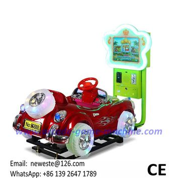 Music 3D Kiddie Rides Swing Car Kids Games Machines For Shopping Malls