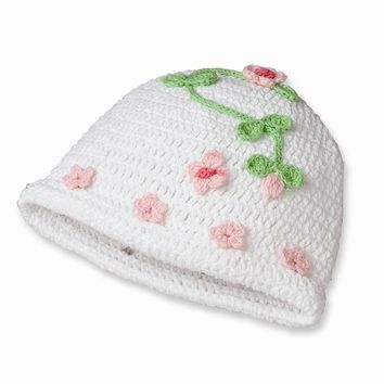 Blessing Butterfly Baby Crochet Cap