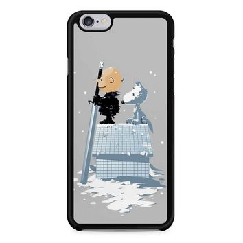 Winter Peanuts Snoopy iPhone 6/6S Case